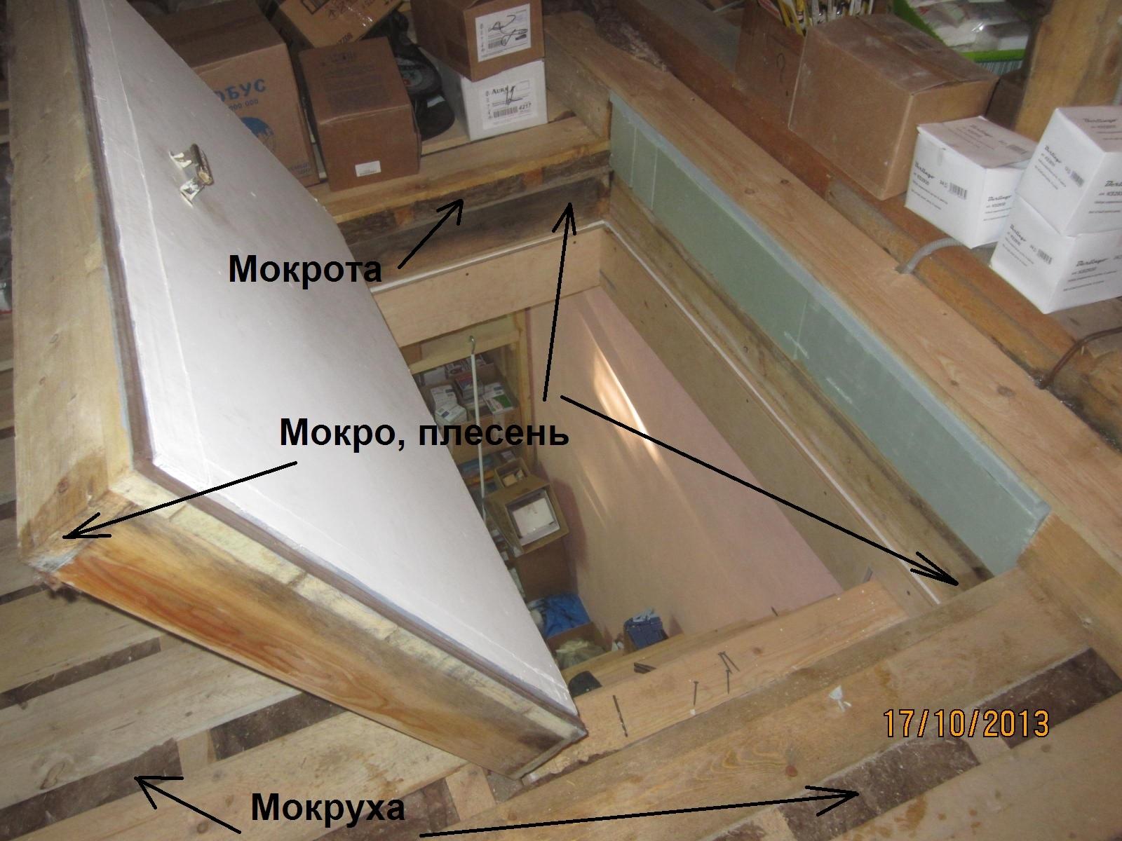 Изготовление люка на чердак